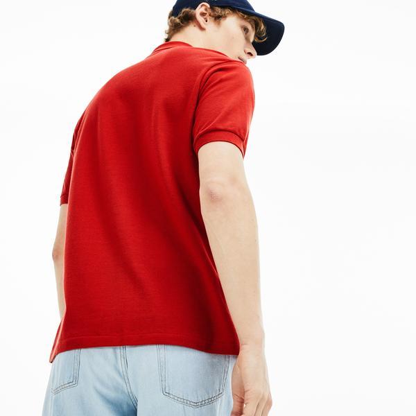 Lacoste Erkek Klasik Fit Kırmızı Polo