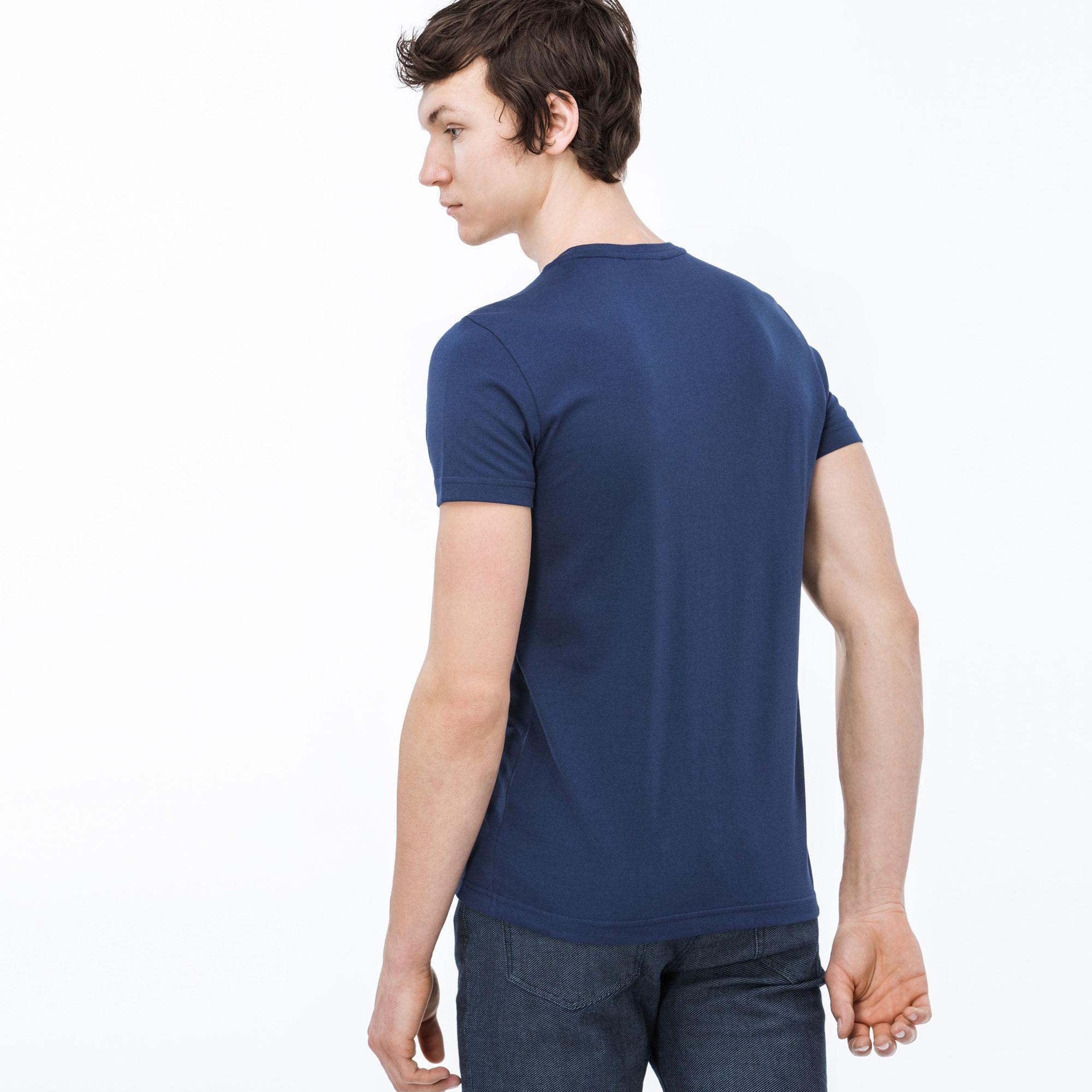 Lacoste Sport Erkek Mavi T-Shirt