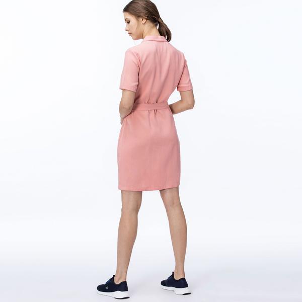 Lacoste Kadın Pembe Elbise