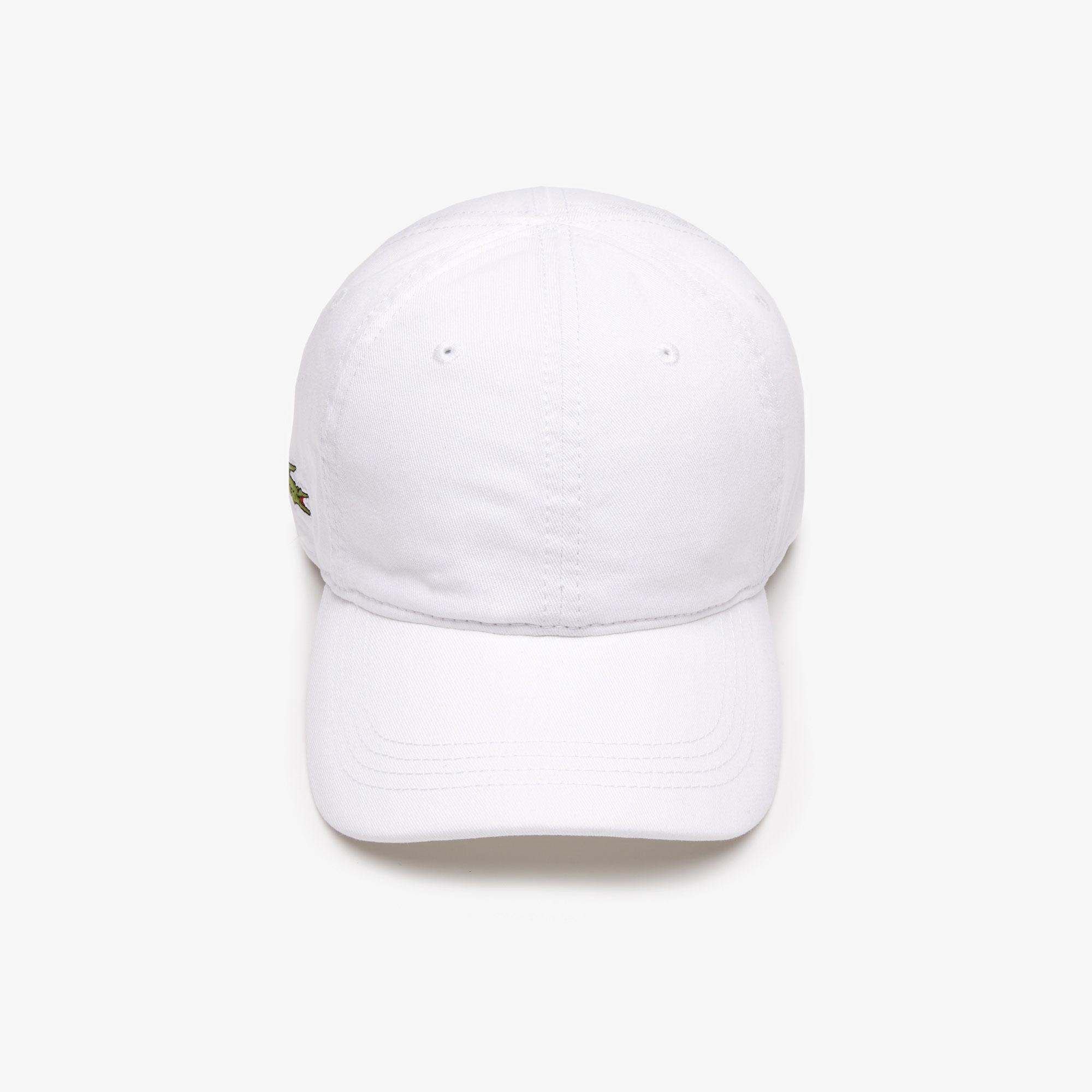 Lacoste Erkek Beyaz Şapka
