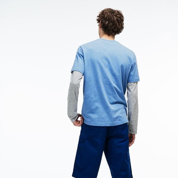 Lacoste Erkek Regular Fit Mavi T-Shirt