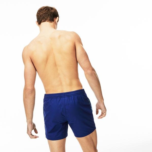 Lacoste Erkek Mavi Rapid Dry Şort Mayo