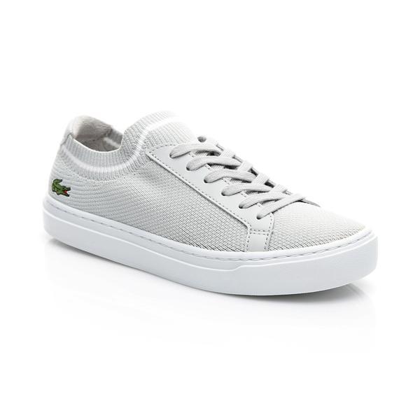 Lacoste Kadın Açık Gri - Beyaz La Piquée 119 1 Casual Ayakkabı