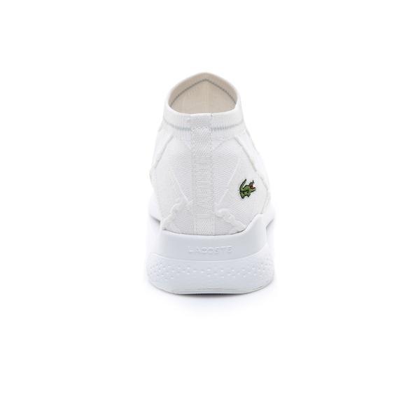Lacoste Erkek Beyaz - Bej LT Fit Sock 119 2 Sneaker