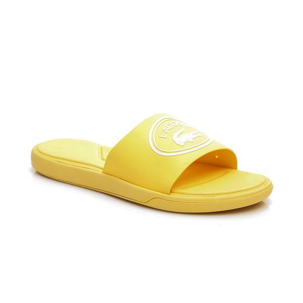 Lacoste Kadın Açık Sarı - Beyaz L.30 Slide 119 2 Casual Terlik