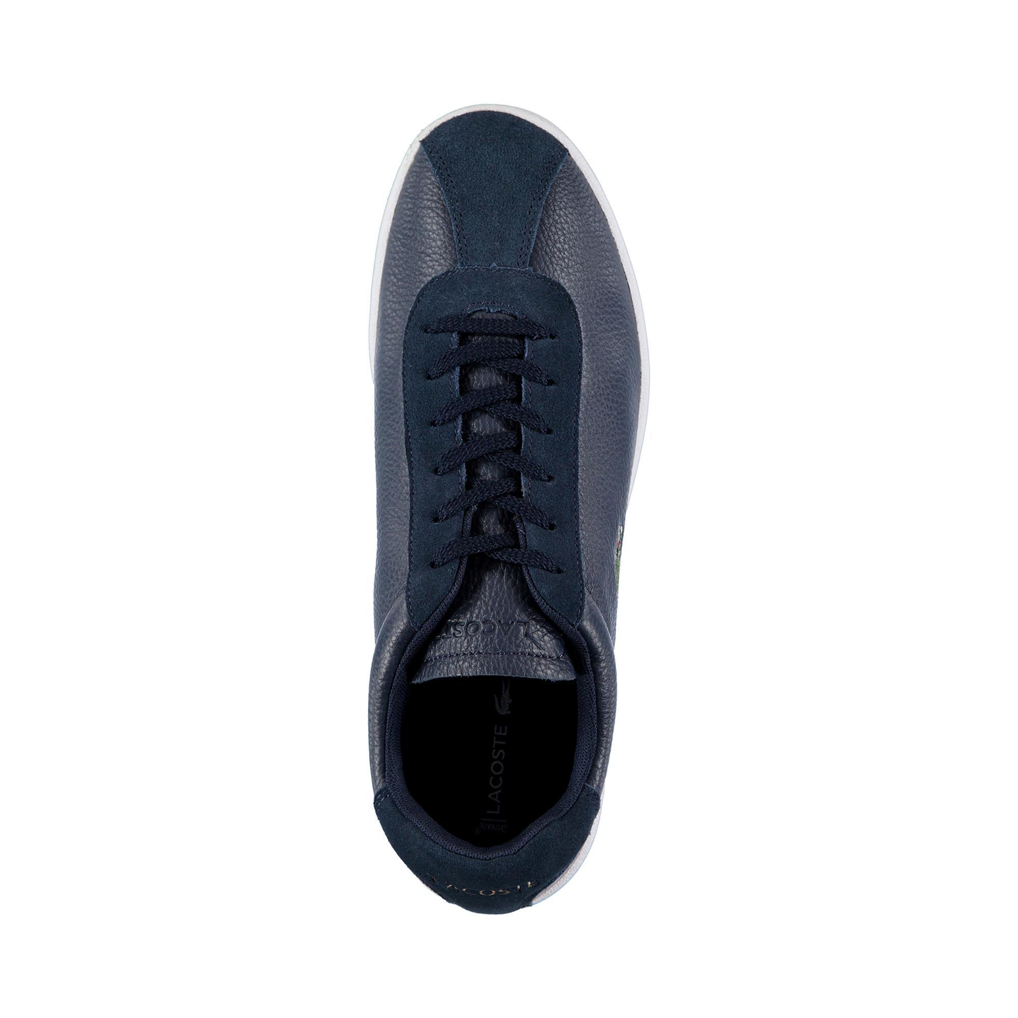 Lacoste Erkek Lacivert - Beyaz Masters 119 2 Sneaker