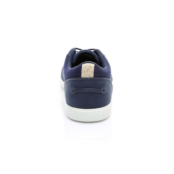Lacoste Erkek Lacivert - Bej Bayliss 119 1 Casual Ayakkabı