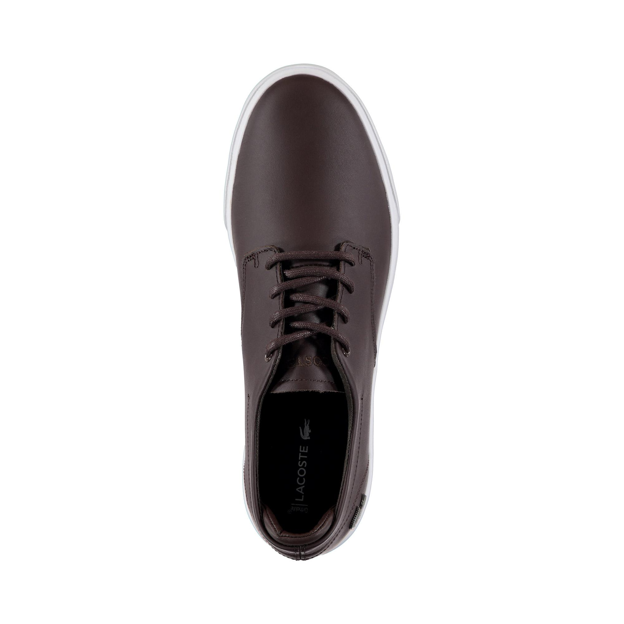 Lacoste Erkek Koyu Kahve - Beyaz Esparre BL 1 Casual Ayakkabı