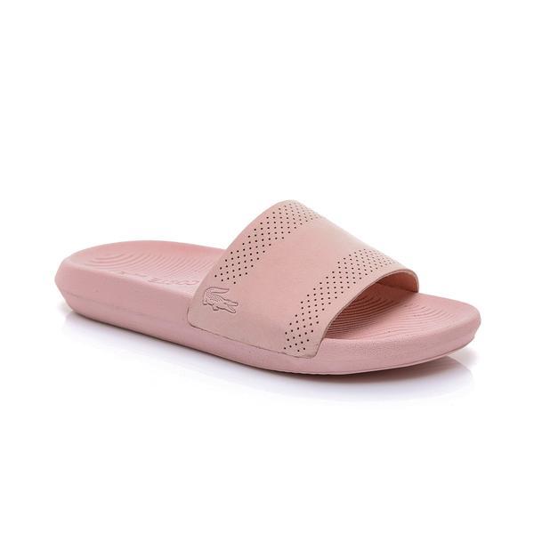 Lacoste Kadın Açık Pembe Croco Slide 119 1 Casual Terlik