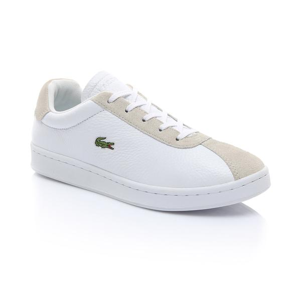 Lacoste Kadın Beyaz - Bej Masters 119 2 Sneaker