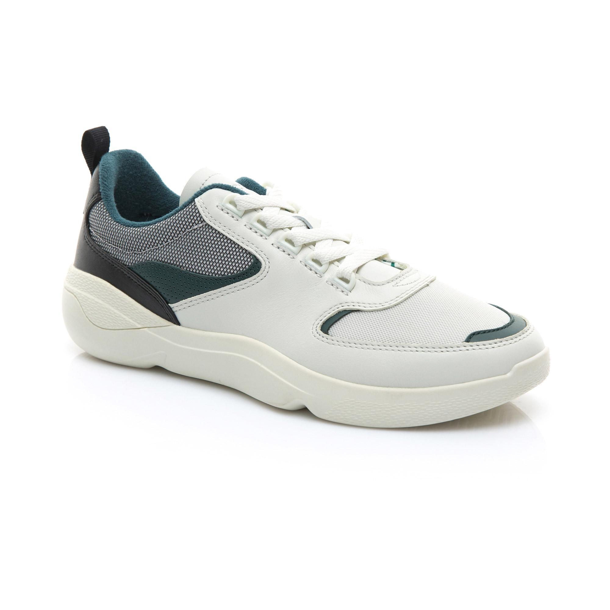 Lacoste Erkek Bej - Koyu Gri Wildcard 119 1 Sneaker