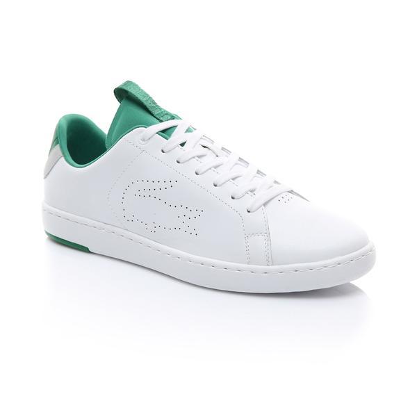 Lacoste Erkek Beyaz - Yeşil Carnaby Evo Light-Wt 1191 Sneaker