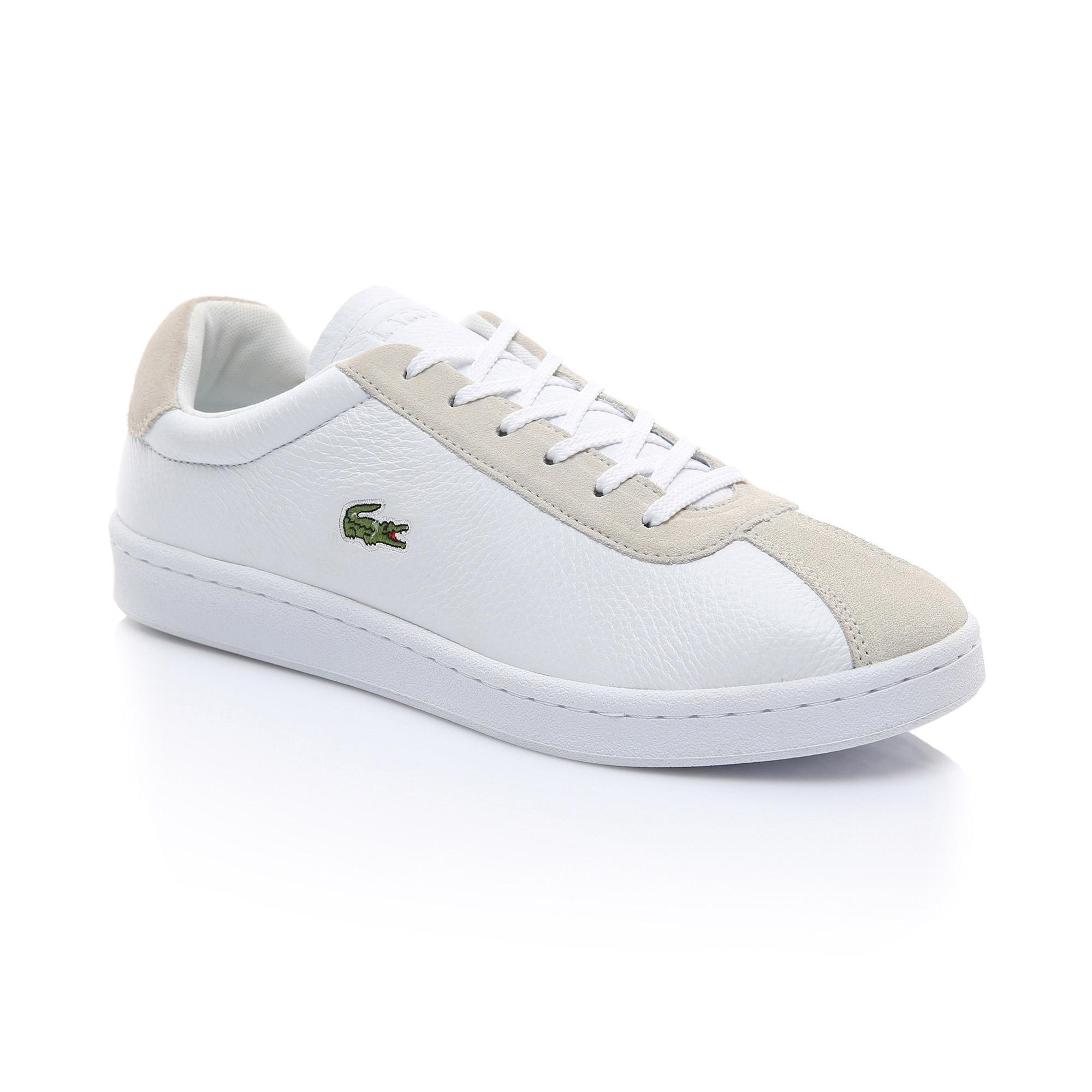 Lacoste Erkek Beyaz - Bej Masters 119 2 Sneaker