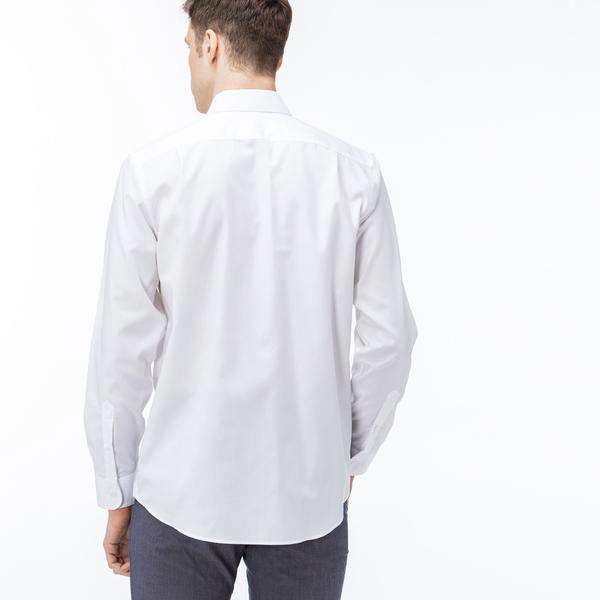 Lacoste Erkek Beyaz Gömlek