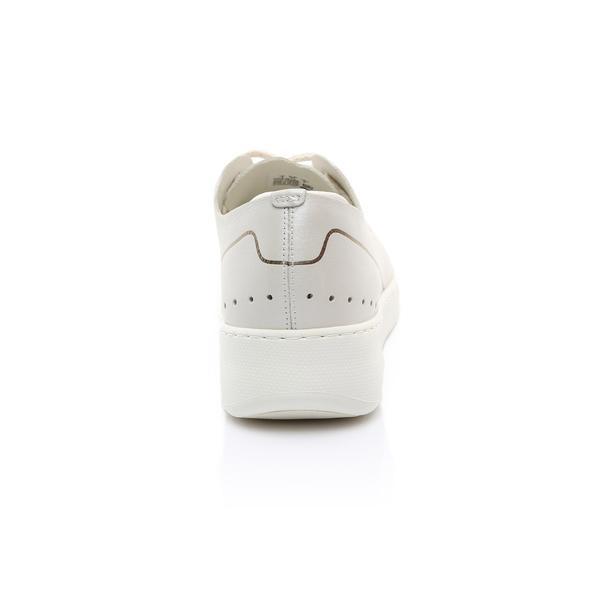 Lacoste Kadın Bej Sneaker