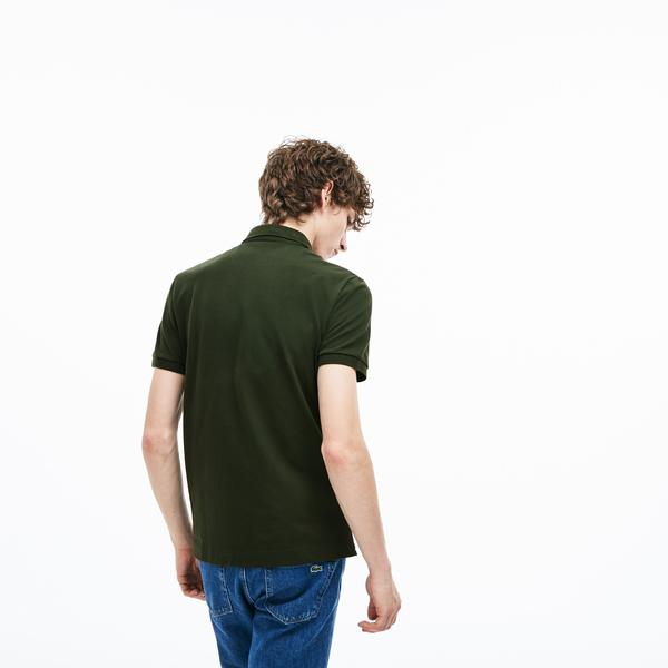 Lacoste Erkek Regular Fit Haki Paris Polo