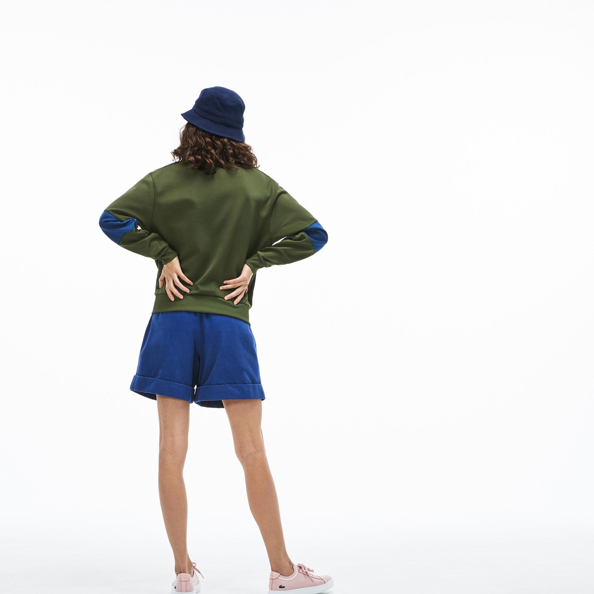 Lacoste Kadın Haki Sweatshirt