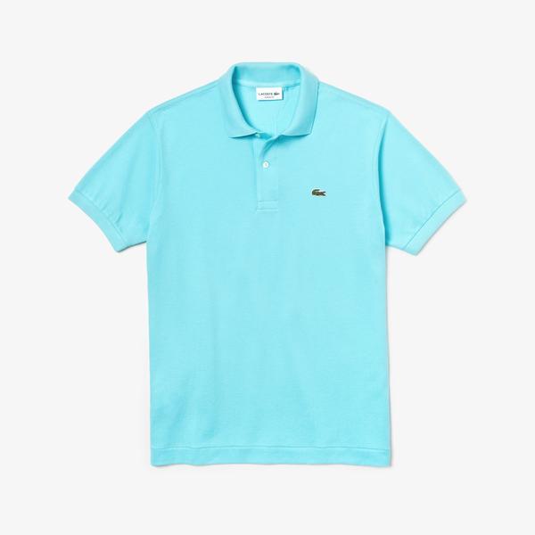Lacoste Erkek L1212 Mavi Polo
