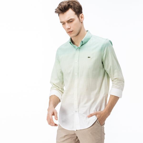 Lacoste Erkek Slim Fit Degrade Gömlek