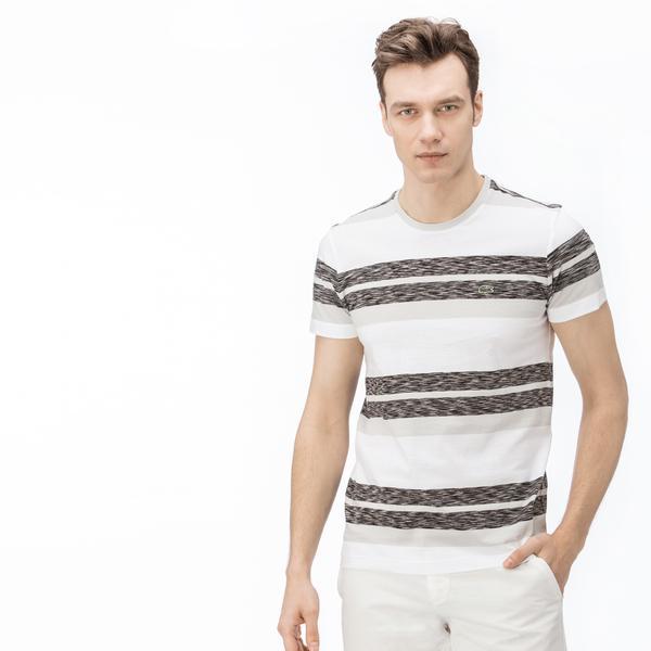Lacoste Erkek Regular Fit Gri T-Shirt