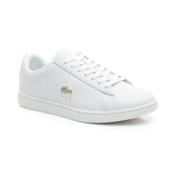 Lacoste Kadın Bej Carnaby Evo 119 3 Sneaker