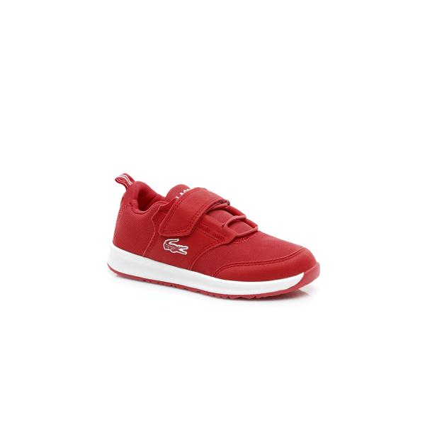 Lacoste Çocuk Kırmızı - Beyaz L.ight 119 1 Sneaker