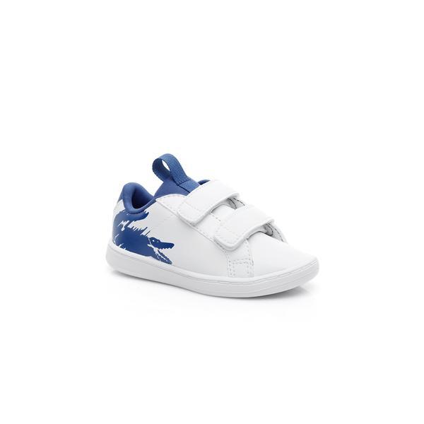 Lacoste Çocuk Beyaz - Mavi Carnaby Evo 119 1 Sneaker
