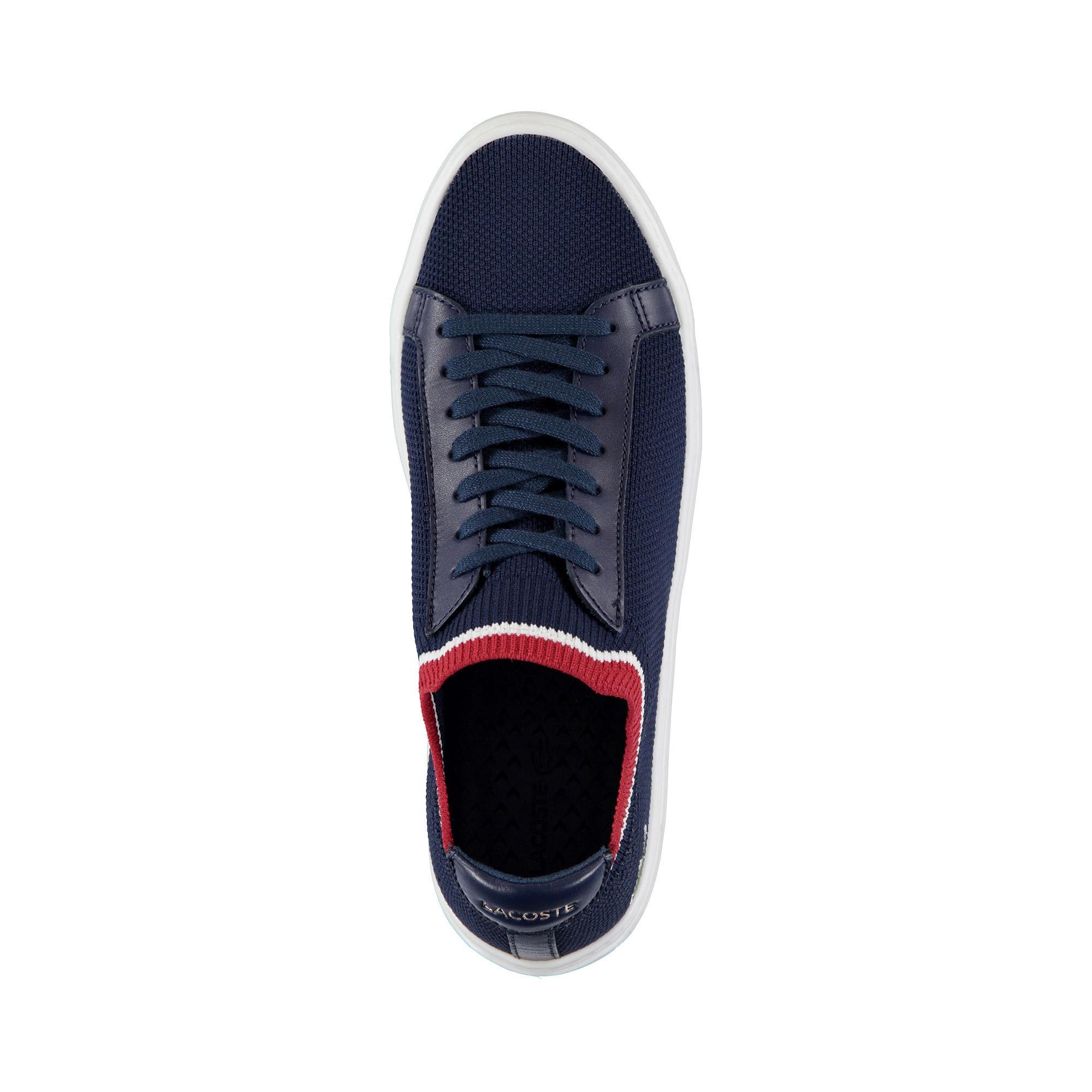 Lacoste Erkek Lacivert - Beyaz - Kırmızı La Piquée 119 1 Casual Ayakkabı