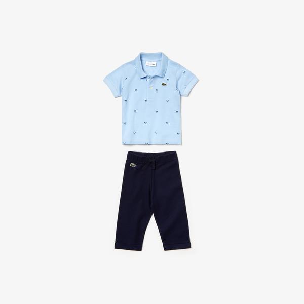 Lacoste Çocuk Mavi-Lacivert Pijama