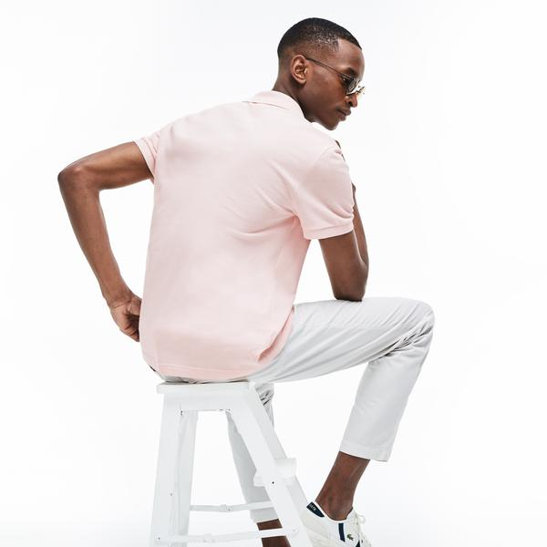 Lacoste Erkek Regular Fit Pembe Polo