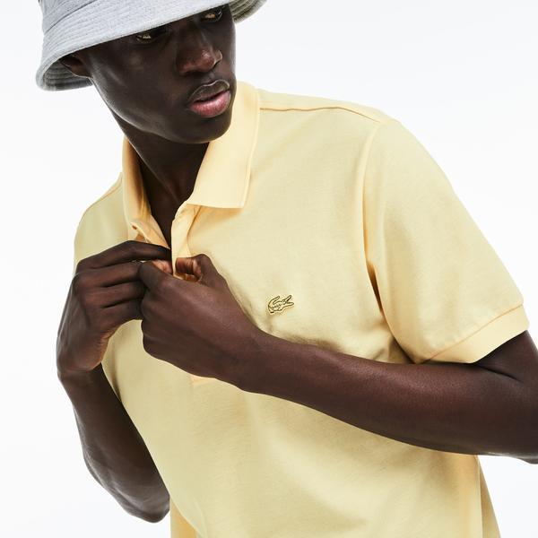 Lacoste Erkek Sarı Polo
